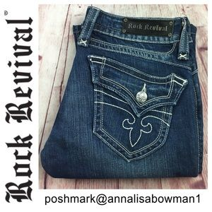 Rock Revival Chrissie Jean size 31